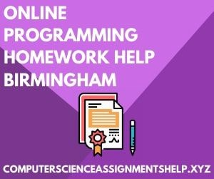 Computer Science Project Help Birmingham