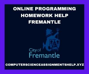 Online Programming Homework Help Fremantle