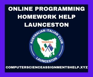 Online Programming Homework Help Launceston