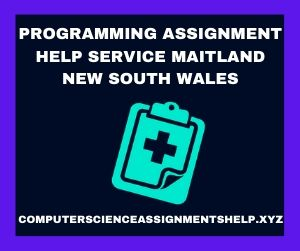 Programming Assignment Help Service Maitland New South Wales