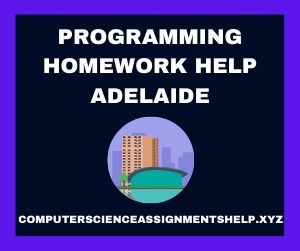 Programming Homework Help Adelaide