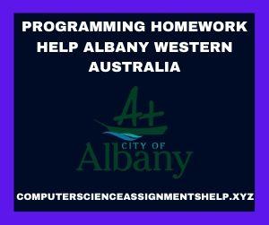 Programming Homework Help Albany Western Australia