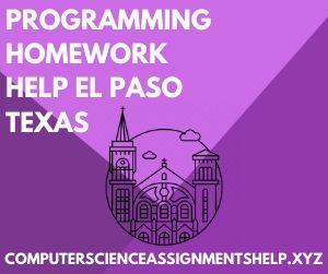 Programming Homework Help El Paso Texas