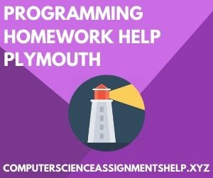 Computer Science Homework Help Plymouth