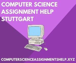Computer Science Assignment Help Stuttgart