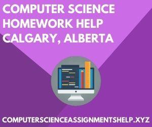 Computer Science Homework Help Calgary Alberta