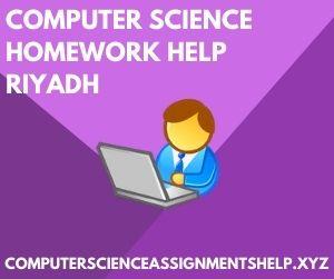 Computer Science Homework Help Riyadh