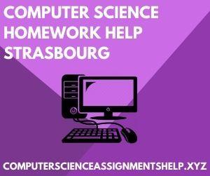 Computer Science Homework Help Strasbourg